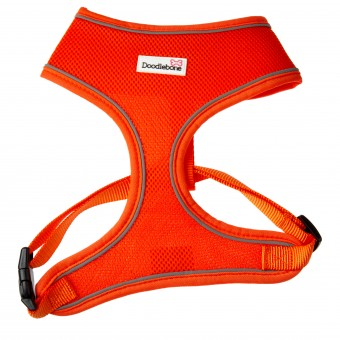 Doodlebone Airmesh Hondentuig Oranje
