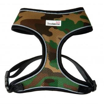 Doodlebone Airmesh Hondentuig Camouflage