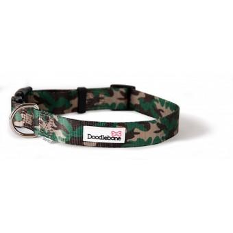 Doodlebone Bold Pattern Hondenhalsband Camouflage