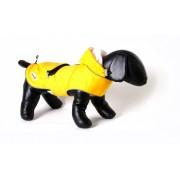 Doodlebone Mac-in-a-Pack regenjas voor honden Geel