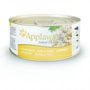 Applaws Cat Blikvoer Bouillon, kippenborst