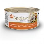 Applaws Cat Blikvoer Bouillon, kippenborst & pompoen