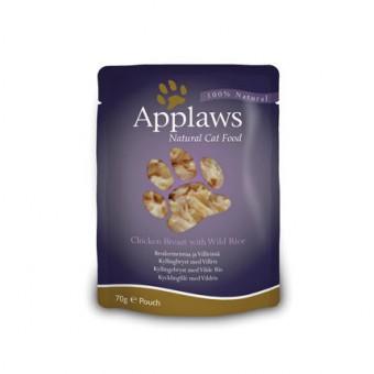 Applaws Cat Quick Serve Bouillon, kip & rijst