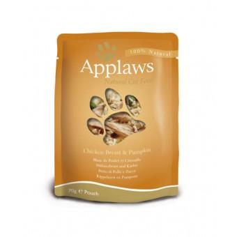 Applaws Cat Quick Serve Bouillon, kip & pompoen
