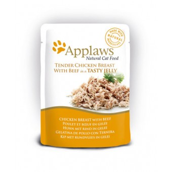 Applaws Cat Quick Serve Jelly, kip & rund