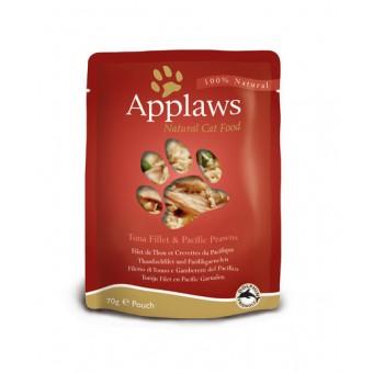 Applaws Cat Quick Serve Bouillon, tonijn & garnaal