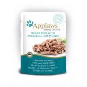 Applaws Cat Quick Serve Jelly, hele tonijn & makreel