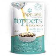 Applaws Cat Topper zeebrasem & tonijn in soep