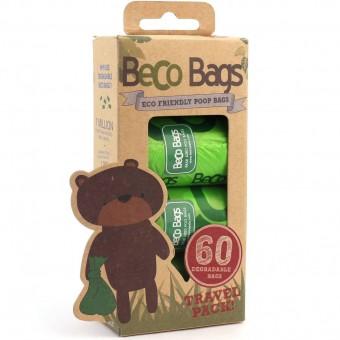 BecoBags poepzakjes 4 x 15st