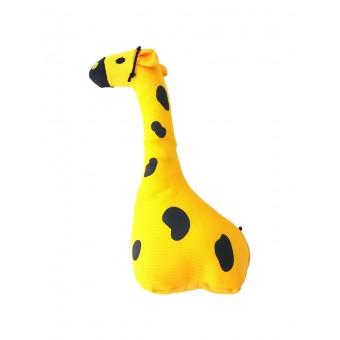 Beco Hondeknuffel met Pieper Giraf