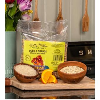 Betty Miller Wheat Free Duck & Orange minis