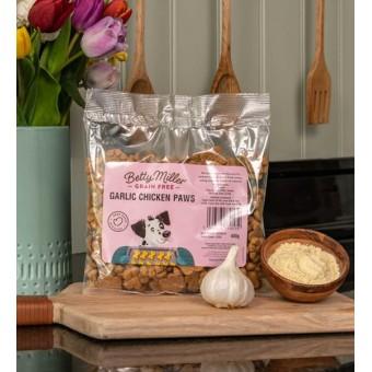 Betty Miller Grain Free Garlic Chicken paws