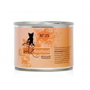 Catz finefood Blikvoer kip & tonijn