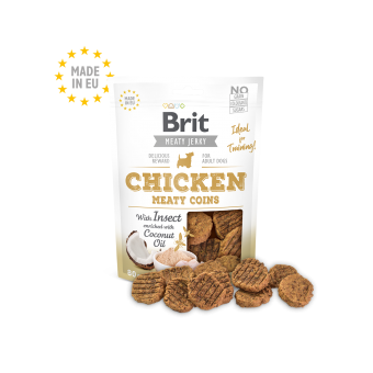 Brit Meaty Jerky Kip & Insect Meaty Coins