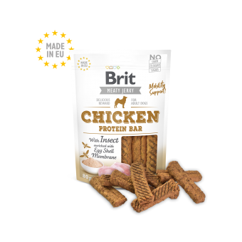 Brit Meaty Jerky Kip & Insect Protein Bar