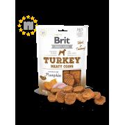 Brit Meaty Jerky Kip & Kalkoen Meaty Coins