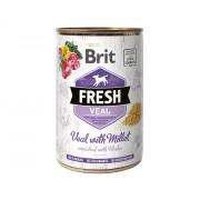 Brit Fresh Blikvoer Kalf met Gierst