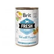 Brit Fresh Blikvoer Vis met Pompoen