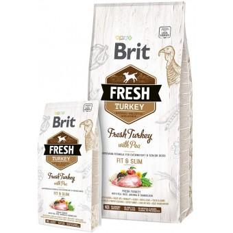Brit Fresh Kalkoen met Erwt Light Fit&Slim