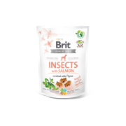 Brit Crunchy Snack Insect & Zalm
