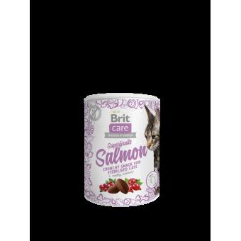 Brit Care Cat Snack Superfruits Zalm