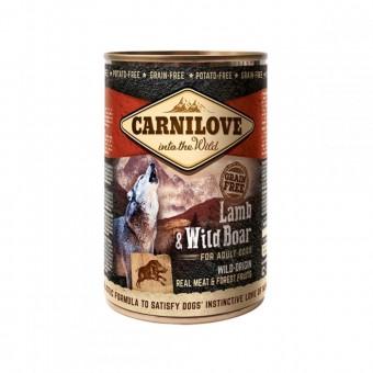 Carnilove Hond Blikvoer Lam & Everzwijn