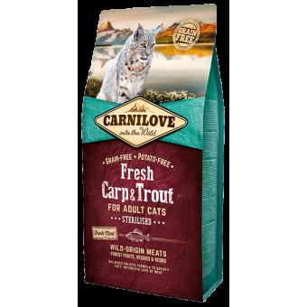 Carnilove Kat Fresh Karper & Forel