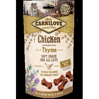 Carnilove Kat Soft Snack Kip met Tijm
