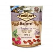 Carnilove Hond Crunchy Snack Makreel met Frambozen