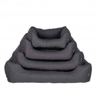 District 70 Classic Bed Charcoal Grey