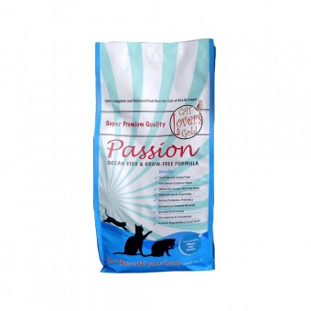 Cat Lovers Gold Passion Ocean Fish