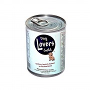 Dog Lovers Gold Blikvoer kip, lam en zalm