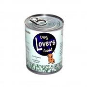 Dog Lovers Gold Blikvoer pens en hart