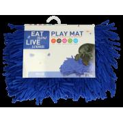 Eat Slow Live Longer Play Mat (Snuffelmat) Blauw