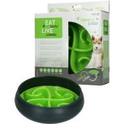 Eat Slow Live Longer Tumble Feeder Groen