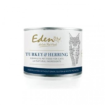 Eden Cat Wet Turkey & Herring