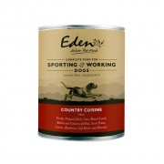 Eden Dog Wet Food Country Cuisine (lam, hert, konijn & eend)