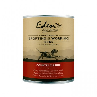 Eden Dog Wet Country Cuisine (for sporting & working dogs)