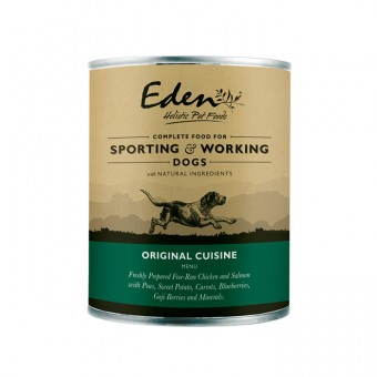 Eden Dog Wet Food Original Cuisine (kip & zalm)