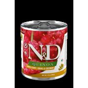Farmina N&D Quinoa Natvoer Skin & Coat Kwartel, Quinoa & Kokos