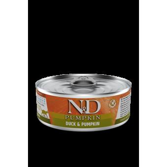 Farmina N&D Pumpkin Blik Eend & Pompoen Kat