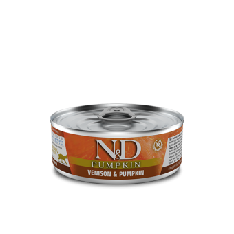 Farmina N&D Pumpkin Blik Hert & Pompoen Kat