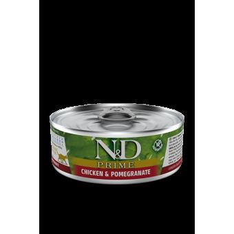 Farmina N&D Prime Blik Kip & Granaatappel Kat