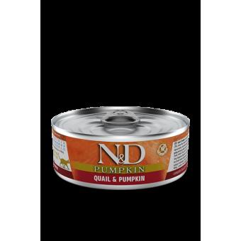 Farmina N&D Pumpkin Blik Kwartel Kat
