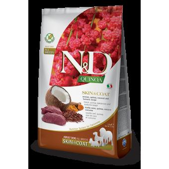 Farmina N&D Quinoa Skin & Coat Hert Quinoa & Kokos