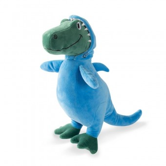 Fringe Dino in Shark Suit