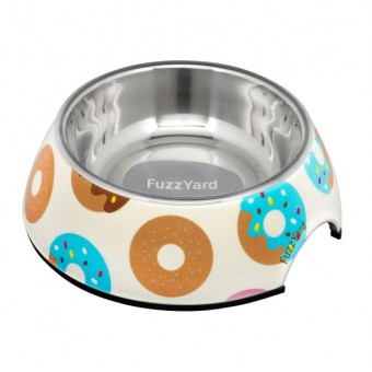 FuzzYard Bowl Go Nuts For Donuts