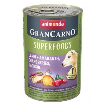Grancarno Superfoods Lam, Amaranth, Cranberries & Zalmolie