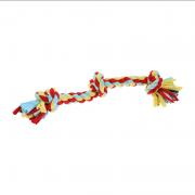 Happy Pet Twist-Tee Trektouw met 3 knopen