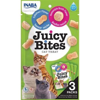 Inaba Kat Juicy Bites Bouillon en Calamari